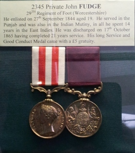 We have information about all the soldiers whose medals we hold.