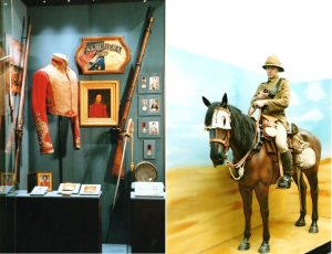The 29th Regiment in India and a Mounted Worcestershire Yeomanry Trooper at Huj
