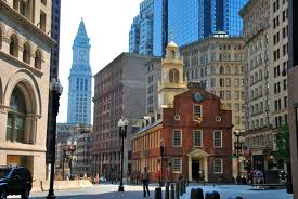 The Old State House, Boston MA, site of the Boston Massacre