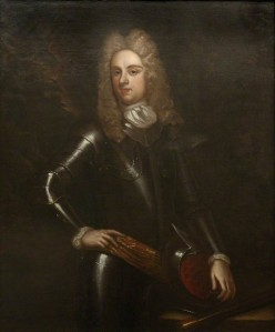 Colonel Thomas Farrington (1664 - 1712). On February 16th 1694 Farrington was commissioned by the King to raise a Regiment of Foot which was to become the Worcestershire Regiment