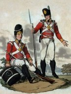 A grenadier and a private of the light company of the 29th Foot