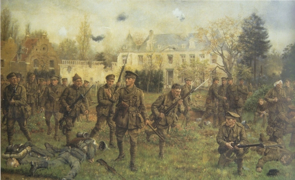 The Worcestershire Regiment retake Gheluvelt