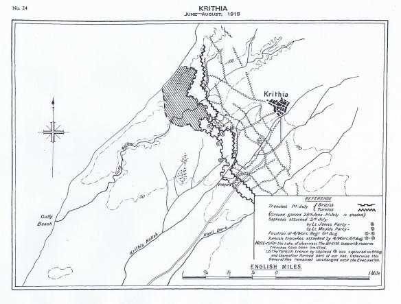Krithia June-August 1915