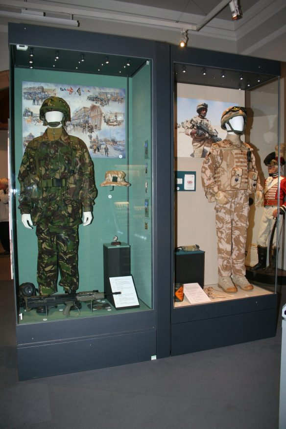 New Afghanistan display in the Worcestershire Solider Gallery