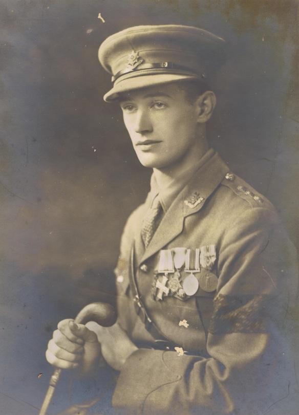 Captain E.P. Bennett VC